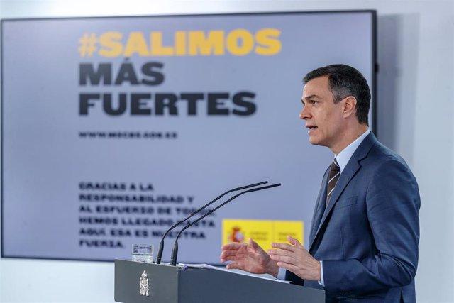 Sánchez critica a los partidos que vinculan feminismo y Covid-19 ...