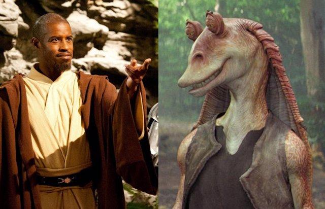 Jar Jar Binks se convierte en un Jedi de Star Wars