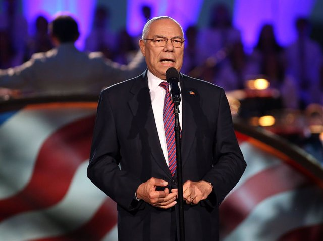 L'ex secretari d'Estat nord-americà Colin Powell