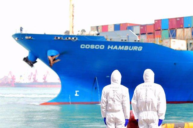 China.- Las exportaciones chinas bajaron un 3,3% en mayo por el parón de la dema