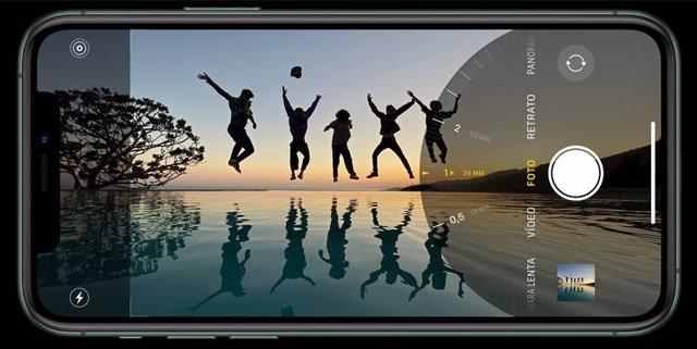 fotografía grupal con el iPhone 11 Pro