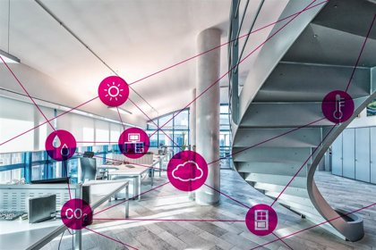 T-Systems desarrolla un proyecto piloto de eficiencia energética mediante sensores IoT en la sede de Bankia en Madrid