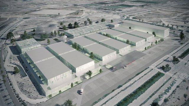 Futuro hospital de emergencias de la Comunidad de Madrid en Valdebebas