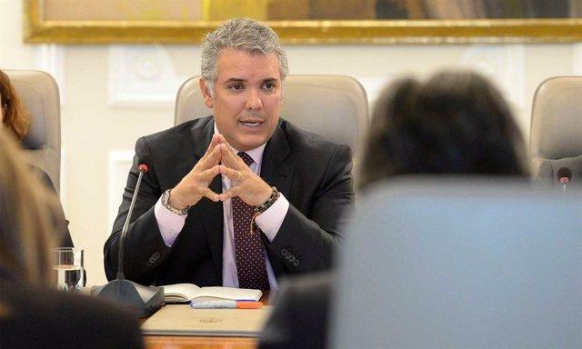 Colombia/Venezuela.- Duque desvincula el despliegue militar de EEUU en Colombia