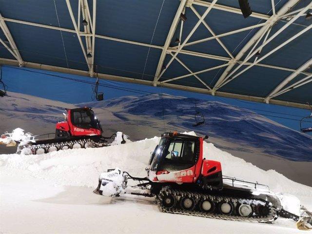 Madrid SnowZone reabre sus instalaciones con mejoras y siguiendo el protocolo de seguridad por la COVID-19