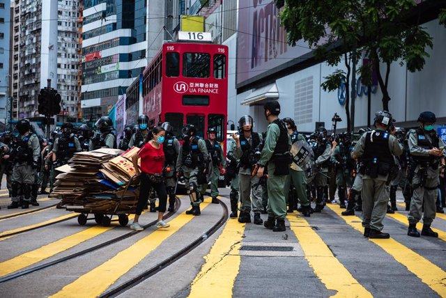 China.- Aplazadas en Hong Kong las manifestaciones con motivo del aniversario de