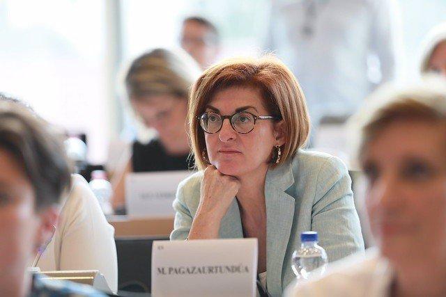 La eurodiputada del Grupo Ciudadanos, Maite Pagaza