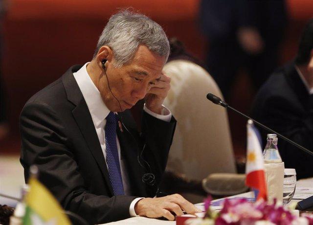 """Coronavirus.- El primer ministro de Singapur augura """"tiempos difíciles"""" pero pid"""