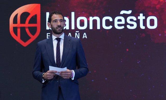 Jorge Garbajosa, presidente de la Federación Española de Baloncesto (FEB).