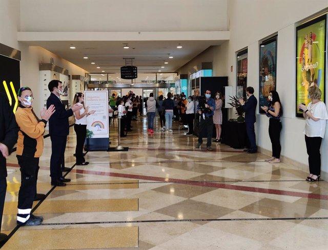 COMUNICADO: intu Xanadú recibe a los primeros visitantes en el inicio de la fase
