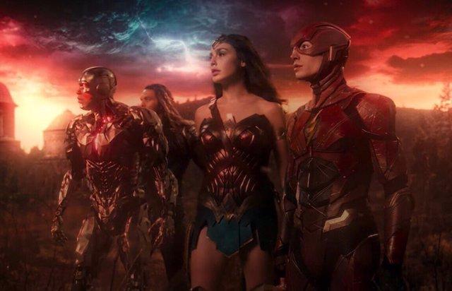 Imagen de la película de Liga de la Justicia