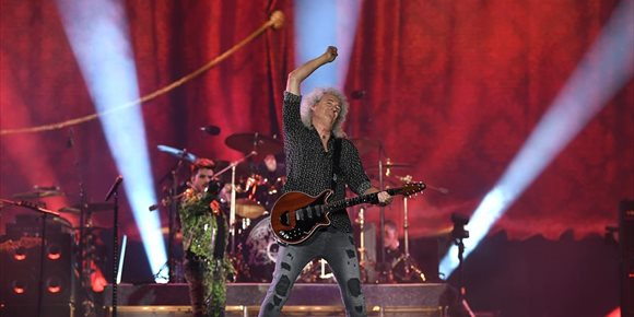 3. Brian May, el mejor guitarrista de todos los tiempos según los lectores de Total Guitar