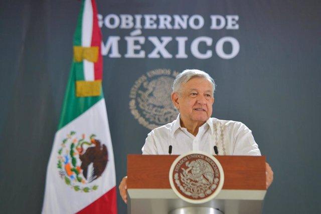 Coronavirus.- López Obrador justifica que no se haya hecho el test del coronavir