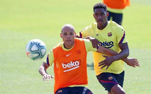 """Fútbol.- Braithwaite: """"Quiero jugar con Suárez y aprender de él"""""""