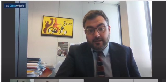 El jefe de la unidad de Semestre Europeo, Inversiones Estratégicas Europeas y Cohesión de la Comisión Europea, Miguel Gil