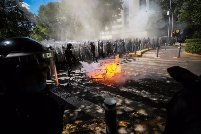 México.- México vivió el domingo su jornada más violenta durante la Presidencia