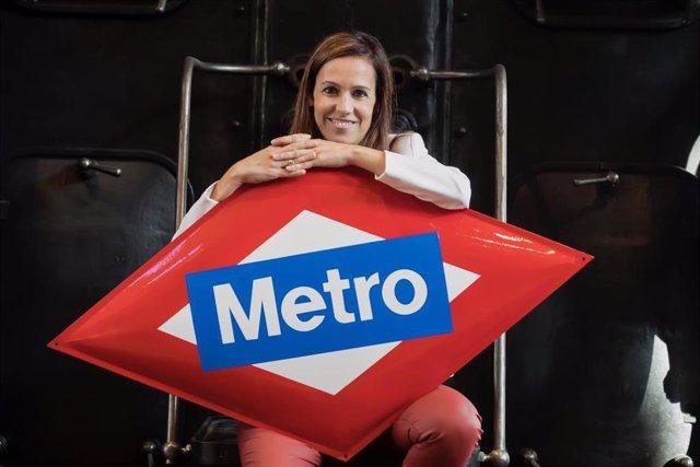 Imagen de recurso de la consejera delegade de Metro, Silvia Roldán.