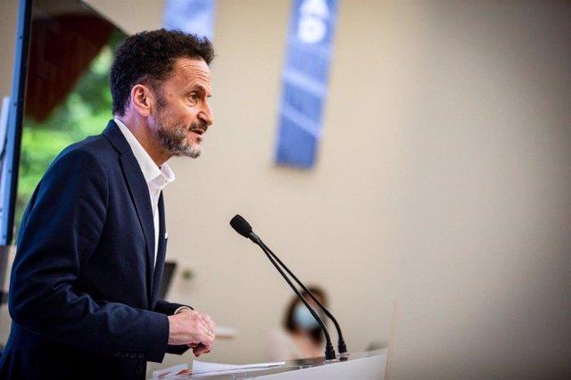 El portavoz de Ciudadanos  en el Congreso de los Diputados, Edmundo Bal.