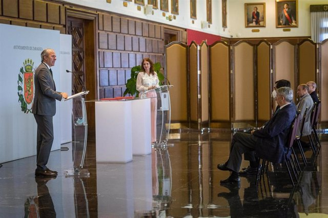 Firma del Acuerdo para el Desarrollo Económico y Social de Zaragoza