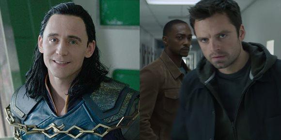 1. Las series de Loki y Falcon and The Winter Soldier reanudarán su rodaje en julio