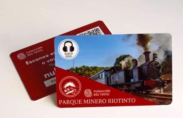 Audioguías del Parque Minero de Riotinto (Huelva).