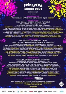 El Festival Primavera Sound 2021 suma Kim Gordon, Khruangbin y Slowthai