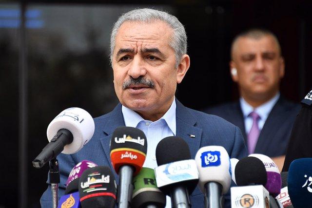 El primer ministro de Palestina, Mohamad Shtayé