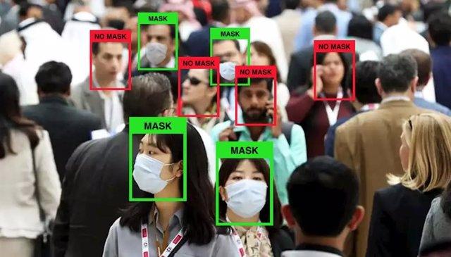 Uso de la tecnología LogMask para detectar el uso de mascarillas