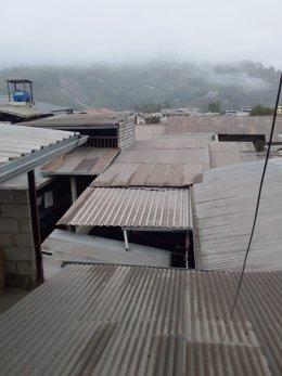 La ceniza del volcán Sangay alcanzan varias ciudades ecuatorianas