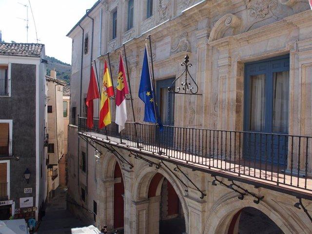 Fachada del Ayuntamiento de Cuenca