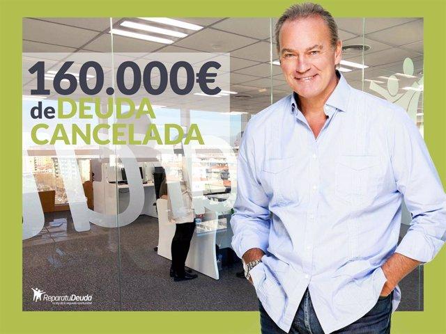 COMUNICADO: Repara tu Deuda Abogados con Bertin Osborne cancelan 160.000 € en Ma