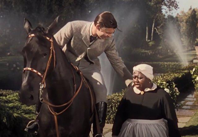 Fotograma de la película Lo que el viento se llevó