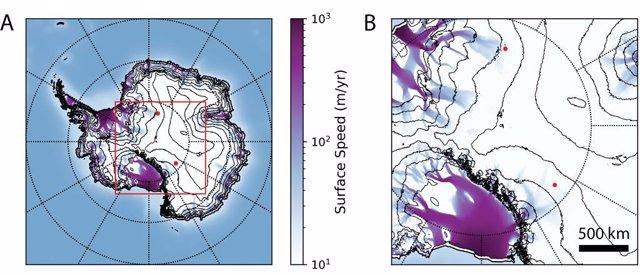 El hielo explica anomalías con neutrinos de aparente origen terrestre