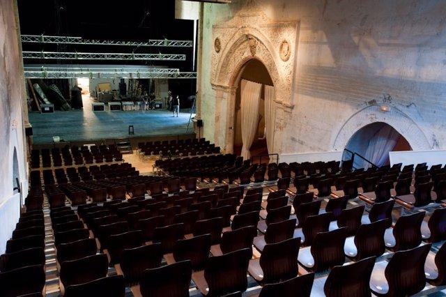 Uno de los escenarios del Festival Internacional de Teatro de Almagro