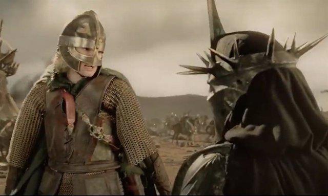 Eowyn mata al Nazgul en El señor de los anillos: El retorno del rey
