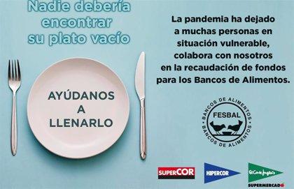 El Corte Inglés dona más de 910.000 euros a los Bancos de Alimentos gracias a la Operación Kilo