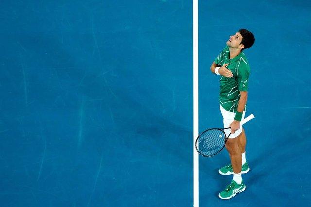 """Tenis.- Novak Djokovic no ve seguro que se juegue el US Open: """"Lo más realista e"""