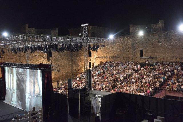 Huelva.- Coronavirus.- Diputación suspende el Festival de Teatro y Danza Castill