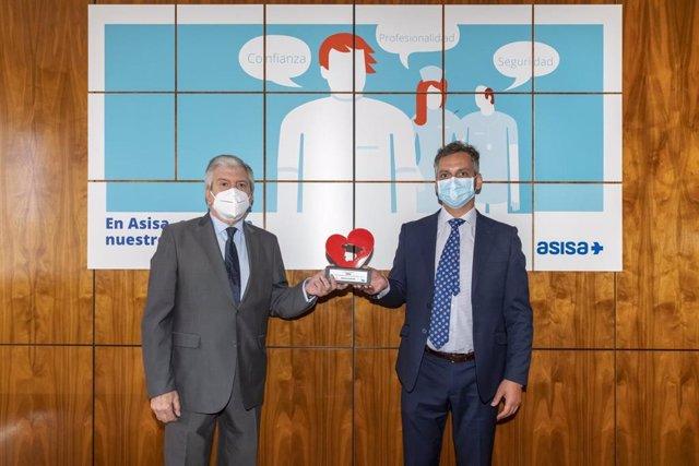 ASISA recibe la distinción 'España en el corazón' por su contribución en la lucha contra el COVID-19