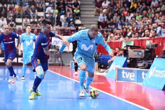 Fútbol sala.- El Play Off por el título se disputará en Málaga del 23 al 30 de j