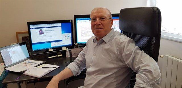 El investigador Joaquín Dopazo, de la Fundación Progreso y Salud, participante en el proyecto de secuenciación del genoma del Covid-19