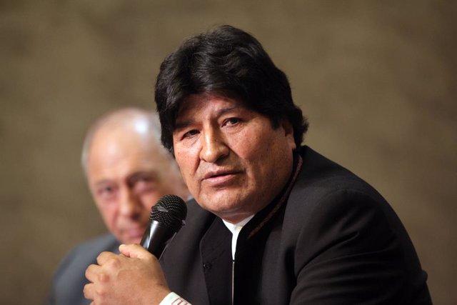 Bolivia.- El Gobierno de Bolivia ordena investigar a Morales por sus supuestos v