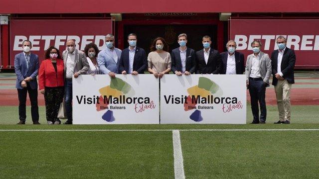 Fútbol.- El estadio del RCD Mallorca se llamará 'Visit Mallorca Estadi' durante