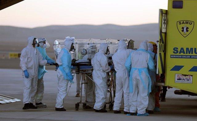 Coronavirus.- Chile suma casi 6.000 casos de coronavirus en un solo día y sitúa