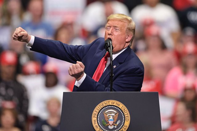 Coronavirus.- Trump prevé reanudar los mítines este mes a pesar de la pandemia d