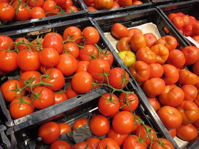 Tomates, caroteno