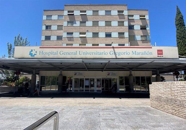 Fachada del Hospital Gregorio Marañón.