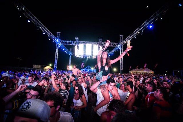 Festival de música Dreambeach en Villaricos (Almería)