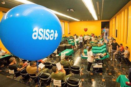 El Grupo ASISA organiza actos de donación de sangre en diferentes ciudades