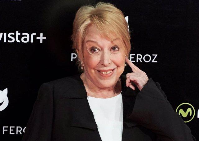 Rosa Maria Sarda Recibe El Premio Feroz